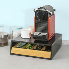 SoBuy Kaffeekapsel Box Kapselspender Schubladenbox Kapselständer,FRG280-SCH