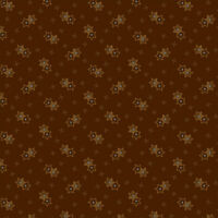 Windham Kindred Spirits (2503-723), Brown Quilting Fabric, Per 1/4 Metre