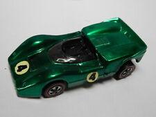 Mattel Hot Wheels Red Line - McLaren M6A - GREEN # 4  - excellent