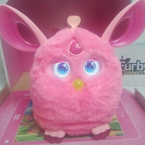 FURBY Connect Pink 2016 Hasbro Interactive Bluetooth with Sleep Mask Works Great