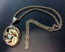 Locket with Gold Chain