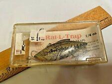 RAT-L-TRAP MINI-TRAP FISHING LURE IN BOX