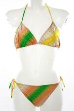 Jo De Mer Multi-Color Abstract Two Piece Bikini Size 3 $127 New 027837