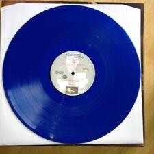 Blues Coloured Vinyl Pop LP Records (1980s)