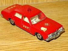 1970's TOMICA Fire Rescue TOYOTA Crown Sc.1:65 Smaller Scale Car Model