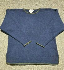 Vintage Woolrich Sweater Pure Wool Pullover Knit Mens Size Large Nordic Style