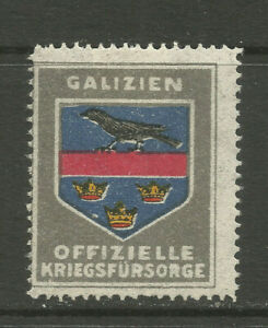 WWI/Austro-Hungary Official War Support charity stamp (Galicia)