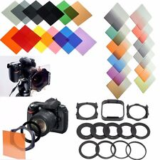 38x Graduated Neutral Color Filter Lens Hood Holder Adapter For Cokin P Series