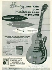 Harmony Vintage Electric Guitars for sale   eBay on