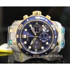 Relojes de pulsera Blue de acero inoxidable para hombre