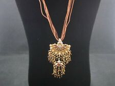 Amazing Bead and Rhinestone Chandelier Necklace – Preowned