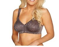Breezies~Safari Lace Seamless WireFree Support Bra~A275343~No Padding~Unlined