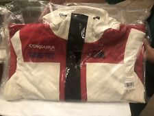 Supreme The North Face Expedition Jacket White and Red SIZE IN-HAND!!!!!!