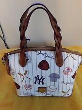 New Dooney Bourke MLB New York Yankees Celeste Bag retail $248