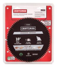 CRAFTSMAN 10 in. 80T Thin Kerf Finishing Blade