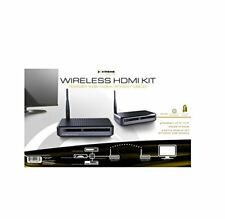 Xtreme Wireless HDMI Kit- Transmit Without The Cables (XHV1-1020-BLK)™