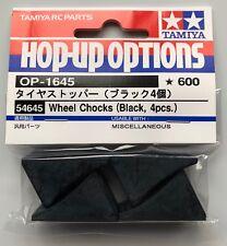 Tamiya 54645 cales (Noir, 4 Pcs) (Touring Cars/Trucks) Neuf sous emballage