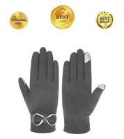 Ladies eTip Gloves Powered Touch Screen Women's SmarTouch Touchscreen Gloves