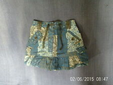 Baby Girls 18-24 Months - Blue Patterned Tiered Skirt - George