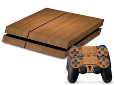 Wood Brown Cover DECAL PROTECTIVE STICKER for SONY PS4 CONSOLE CONTROLLER