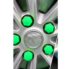 Auto Truck Accessories 19mm Wheel Tyre Hub Screw Bolt Nut Cap Green Plastic 20x