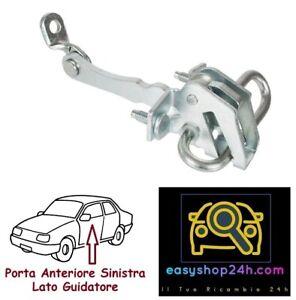 TIRANTE ARRESTO PORTA ANTERIORE SX PER ALFA 147 3P GT BLOCCO MOLLA SPORTELLO