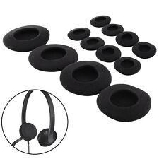 1 pair 65mm Headset Headphone Earphone Soft Foam Sponge Ear Pads Cover