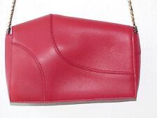 Mini sac à bandoulière ELIE SAAB  cuir rouge cardinal