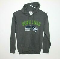 Seattle Seahawks NFL Team Apparel Genuine Hoodie Jumper Men's Size Medium