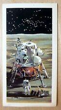 Brooke Bond RACE INTO SPACE card 35. Apollo lunar module. Eagle, Neil Armstrong.