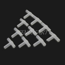 10 Pcs Tee Connector Aquarium Oxygen Pipe Hose Tube Joiner Air Fuel Fitting