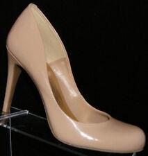 Jessica Simpson 'Calan' nude round toe sculpted slip on pump heel 10M