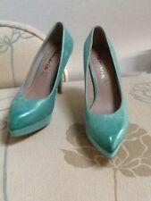 Tamaris green platform court shoe UK 36
