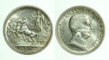 pci0437) Regno Vittorio Emanuele III Lire 2 Quadriga Briosa 1916