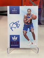 2019-20 Court Kings RJ Barrett Heir Apparent Ruby RC On card Auto #/99 NY Knicks