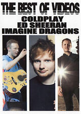 COLDPLAY ED SHEERAN IMAGINE DRAGONS THE BEST OF VIDEOS 39 VIDEO HITS ROCK POP