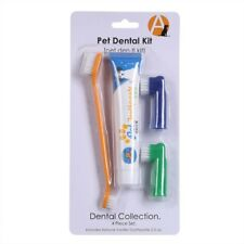 Pet Health Teeth Care Toothbrush Toothpaste Kit Dog Finger Brush Beef Flavour