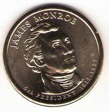 US. 2008-D. James Monroe. 5th President (1817-24) UNC