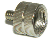 """Thread Adapter for microphone  5/8"""" 27 Female to 1/4"""" 20 male Thread 5791A"""