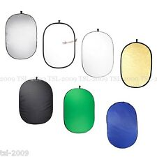 100x150cm XLarge Collapsible 7in1 Studio Reflector Scrim Diffuser Panel Control