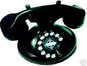 1920S ART DECO 1191D TELEPHONE OVAL BASED