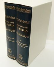 Española BIBLE Libro HEBREW-SPANISH,Jewish Tanakh Old Testament 5 Books of Moses