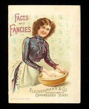 FACTS & FANCIES COMPLIMENTS OF FLEISCHMANN & CO 1900 TRADE BOOK ILLUS EPHEMERA