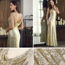 f454d6df14 Ever-Pretty Long Gold Sequin Evening Party Dresses Celebrity Homecoming  Dresses