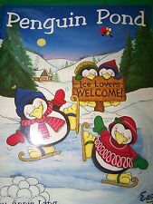 PENGUIN POND BY ANNIE LANG 2000 TOLE PAINT BOOK HOLIDAY CHEER
