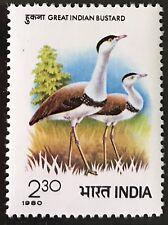 Indien India 1980 **  Postfrisch  Vögel / Birds  ( Komp. Ausg. )  MNH