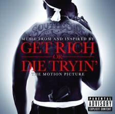 50 CENT & GET RICH OR DIE TRYIN OST CD NEW