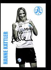 Hanne Kattler Autogrammkarte Stuttgarter Kickers 2016-17 Original Sign+A 137804