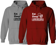 Basketball Sports Unisex Pullover Hoodie Sweater Mens Women Sweatshirt Gift Eat