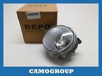 Light Fog Lamp Right Depo For RENAULT Kangoo Megane Scenic